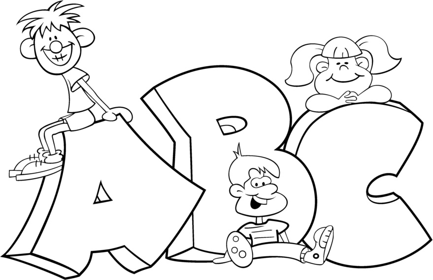 a b c coloring pages abc drawing at getdrawings free download pages coloring a b c