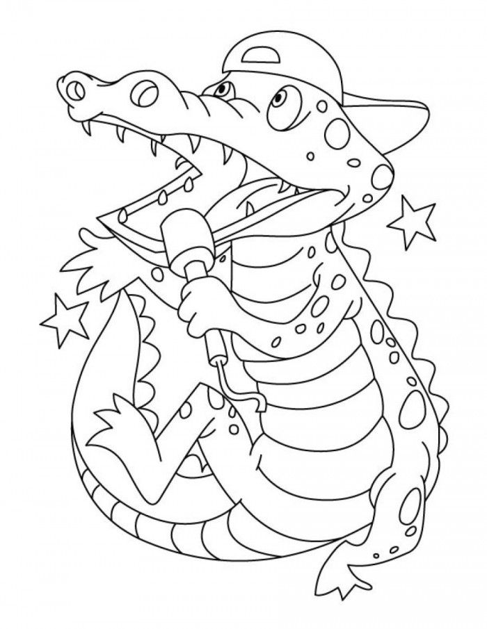a for alligator coloring page a is for alligator coloring page coloringcom page a coloring alligator for