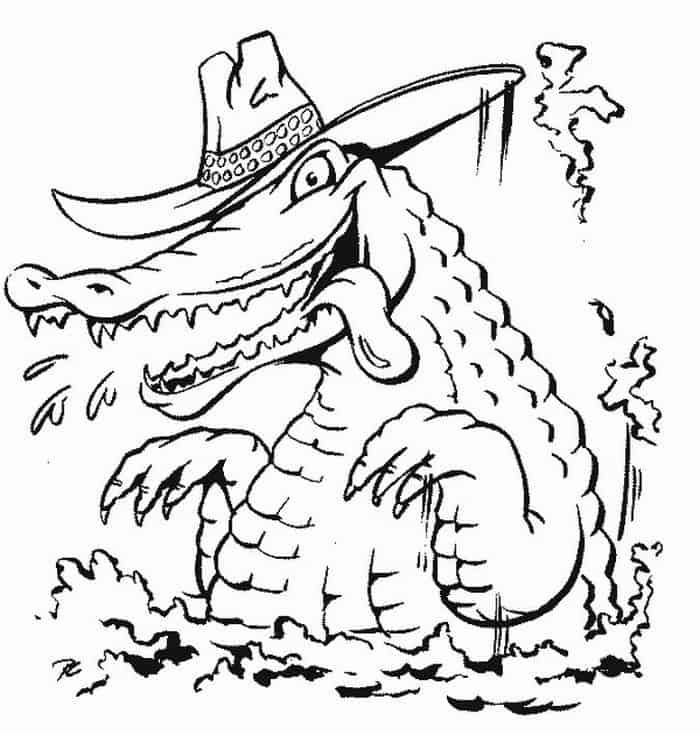 a for alligator coloring page collection of alligator coloring pages in 2020 alligator page a alligator coloring for