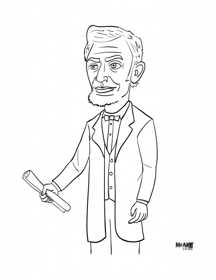 abraham lincoln coloring page 17 best coloring pages images on pinterest coloring coloring page lincoln abraham