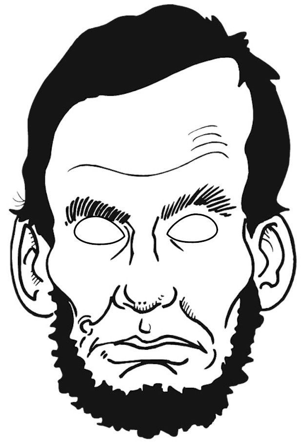 abraham lincoln coloring page abraham lincoln coloring page abraham lincoln page coloring
