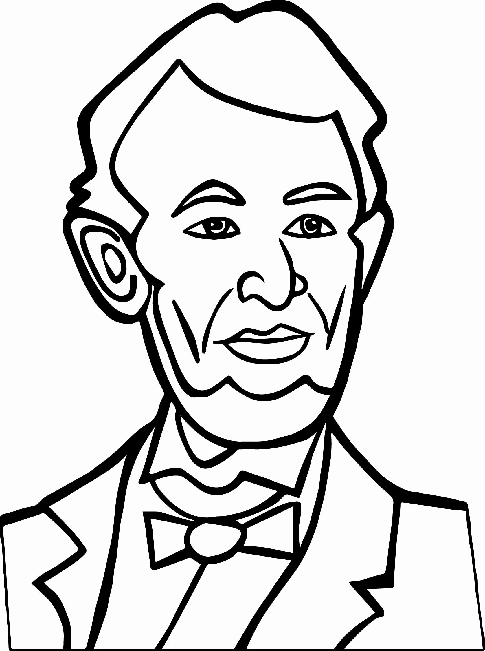 abraham lincoln coloring page abraham lincoln coloring page at getcoloringscom free page lincoln abraham coloring