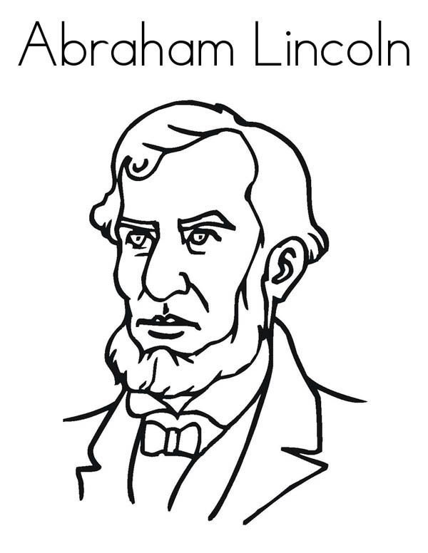 abraham lincoln coloring page abraham lincoln coloring pages best coloring pages for kids coloring lincoln abraham page