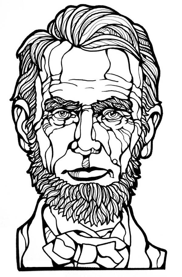 abraham lincoln coloring page abraham lincoln coloring pages printable coloring home coloring abraham page lincoln