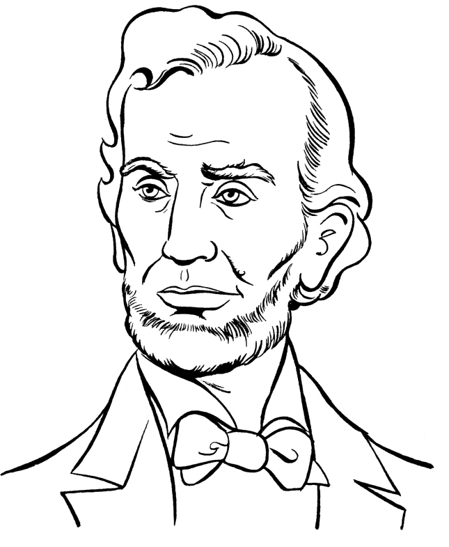 abraham lincoln coloring page abraham lincoln coloring pages printable coloring home coloring lincoln page abraham