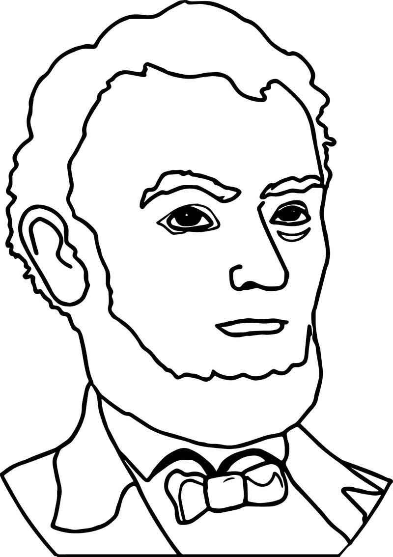abraham lincoln coloring page abraham lincoln president line coloring page coloring coloring abraham page lincoln