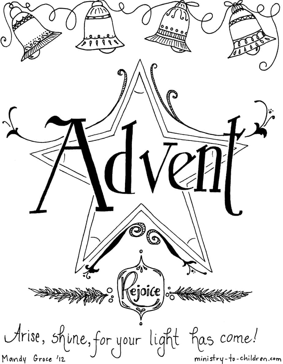 advent coloring pages creative and engaging advent devotions activities for advent coloring pages