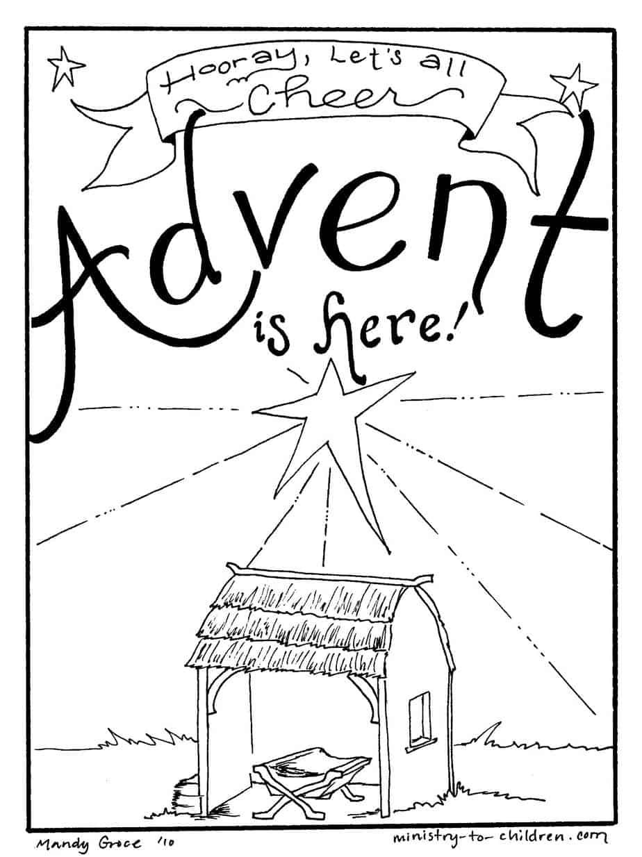 advent coloring pages free christian coloring book for the advent season advent pages coloring