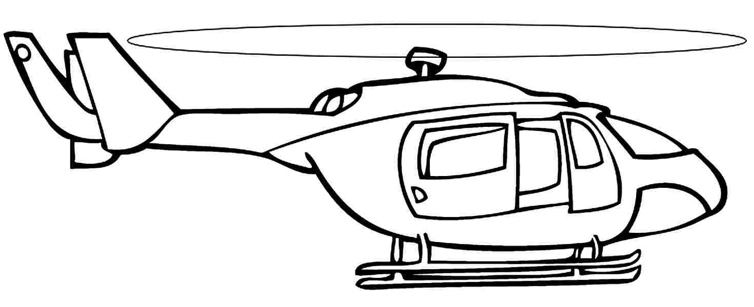 airplane and helicopter coloring pages helicopters with a modern shape polizei pages and helicopter coloring airplane