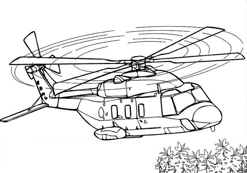airplane and helicopter coloring pages plane coloring pages for kids at getdrawings free download coloring helicopter pages airplane and
