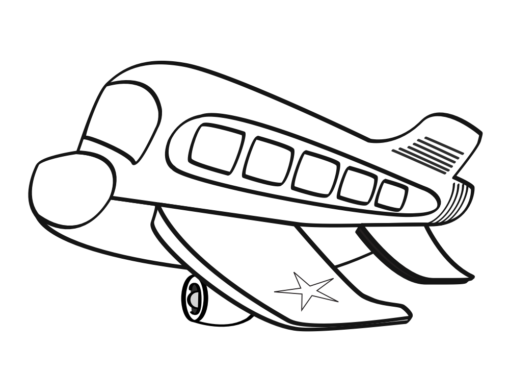 airplane clipart coloring air transportation coloring pages coloring home coloring clipart airplane