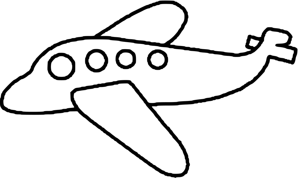 airplane clipart coloring airplane pictures for kids clipartsco airplane clipart coloring