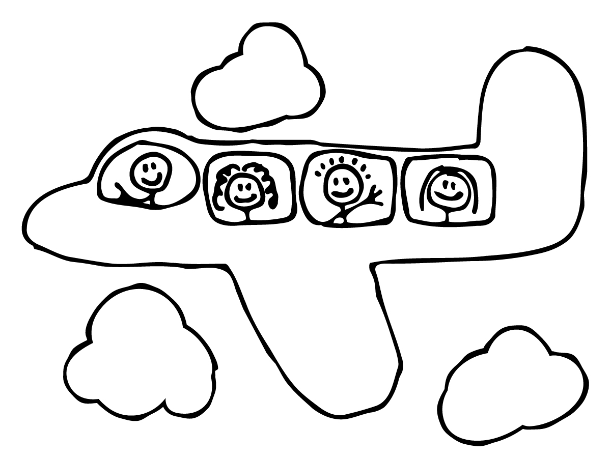 airplane clipart coloring attachment browser cartoon airplane coloring page 3gif clipart airplane coloring