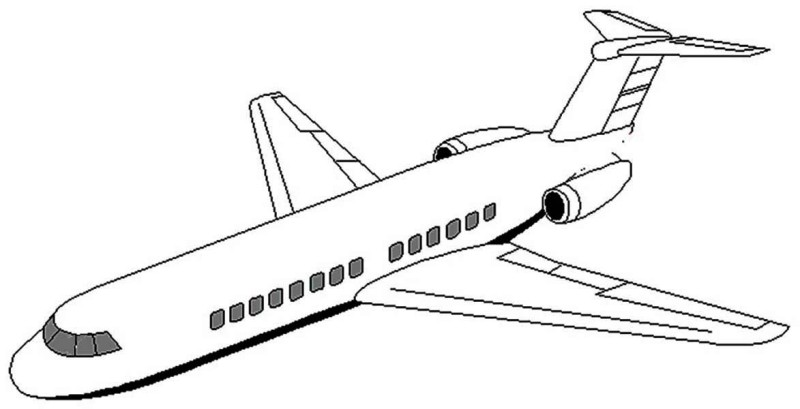 airplane clipart coloring clipart panda free clipart images clipart airplane coloring