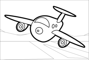 airplane clipart coloring coloring clipart airplane coloring airplane transparent coloring clipart airplane