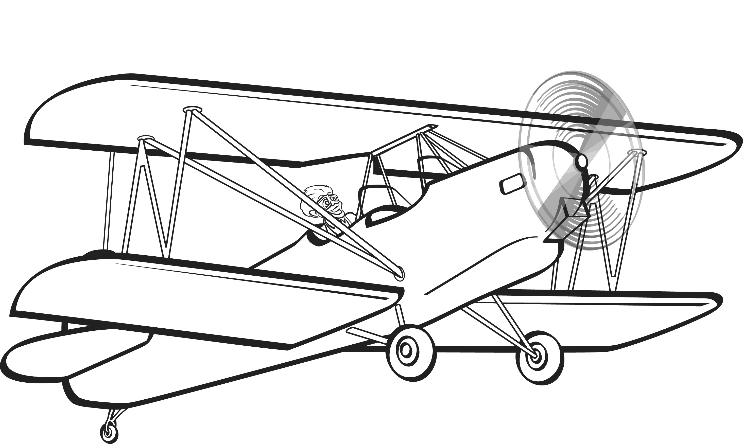 airplane clipart coloring coloring pages for kids airplane coloring pages coloring clipart airplane