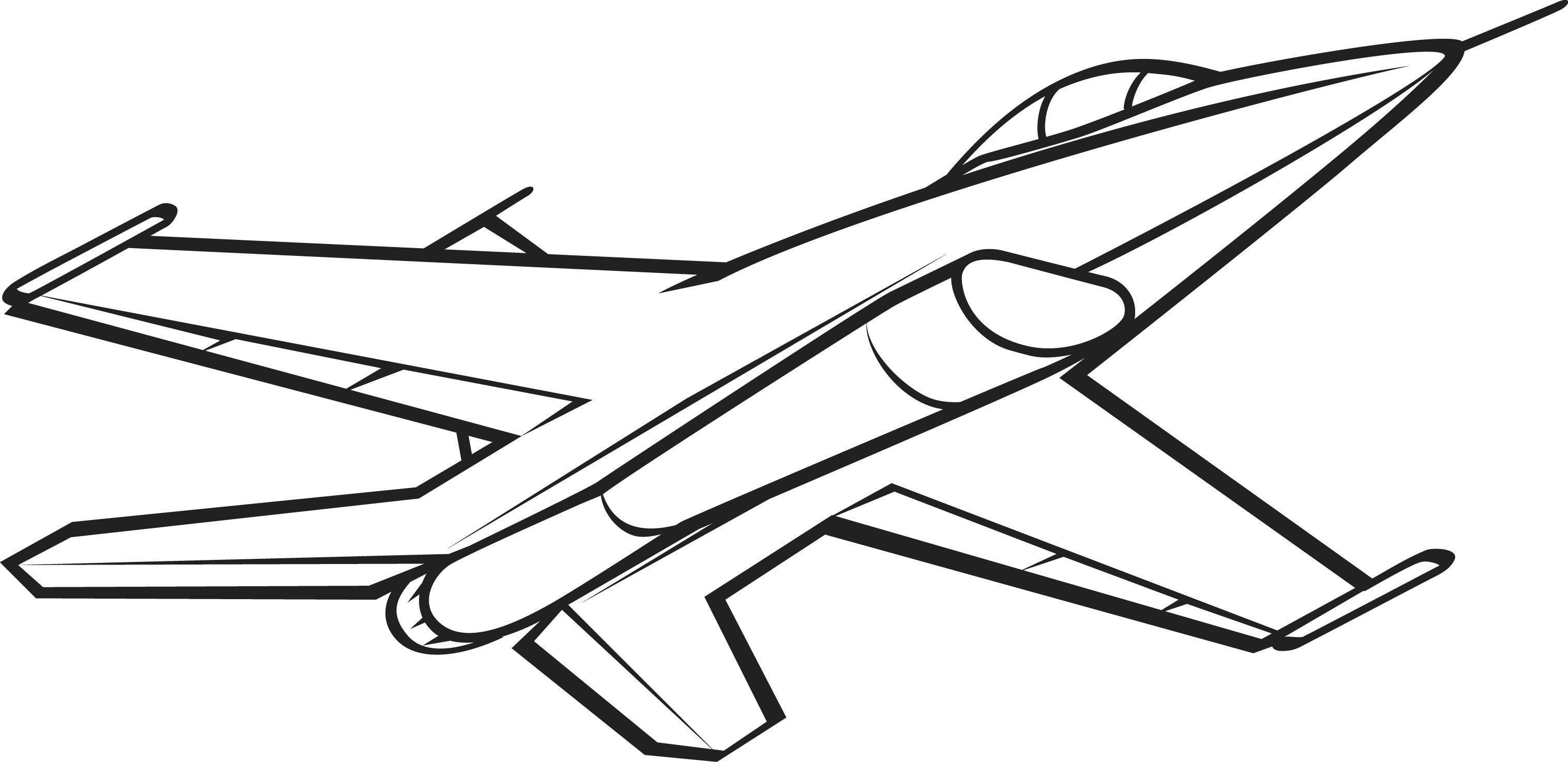 airplane clipart coloring military images free clipartsco airplane coloring clipart