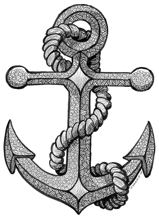 anchors to draw anchor line art drawing clip art anchor png download draw anchors to