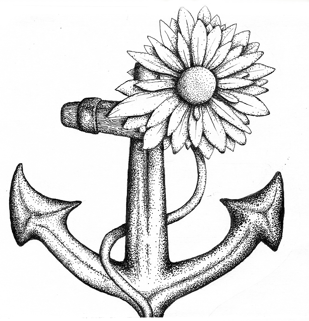 anchors to draw anchor tattoo line drawing by inkjunkie88 on deviantart draw to anchors