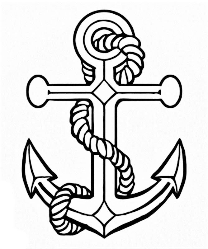 anchors to draw drawing anchor vintage of england homes coloring book to anchors draw