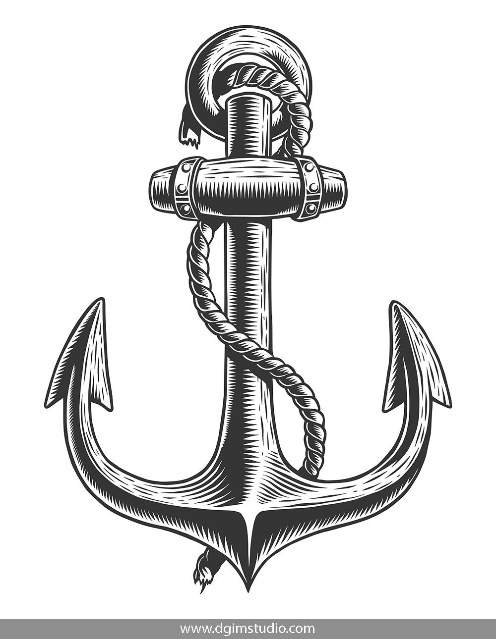 anchors to draw how to draw an anchor easy drawing guides to anchors draw