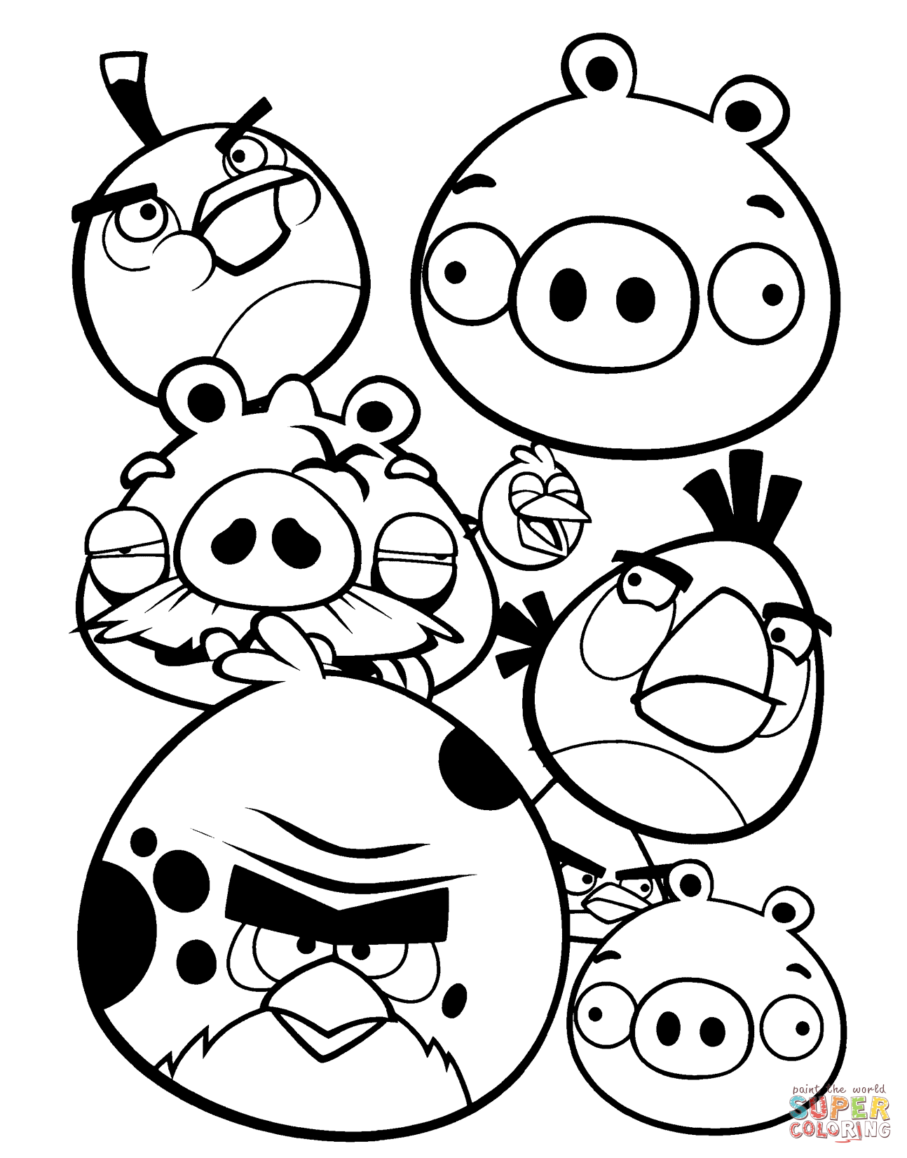 angry birds coloring pages angry birds character coloring pages team colors coloring birds pages angry