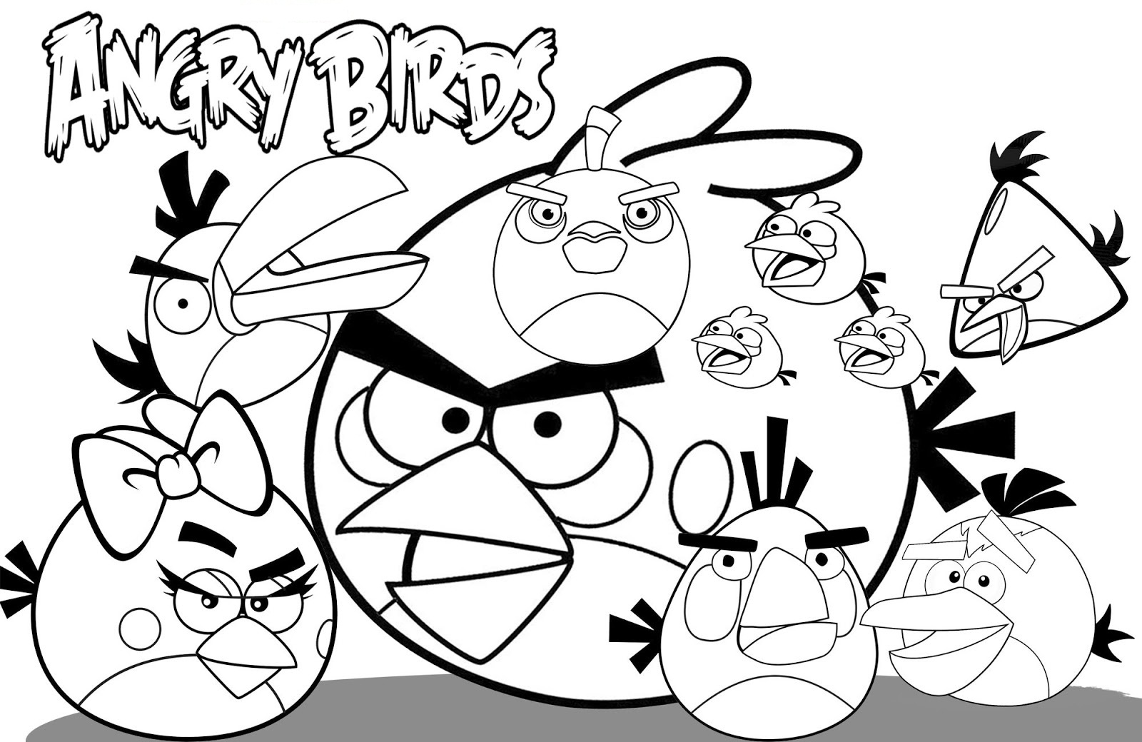 angry birds coloring pages angry birds kids coloring pages free printable kids birds coloring angry pages