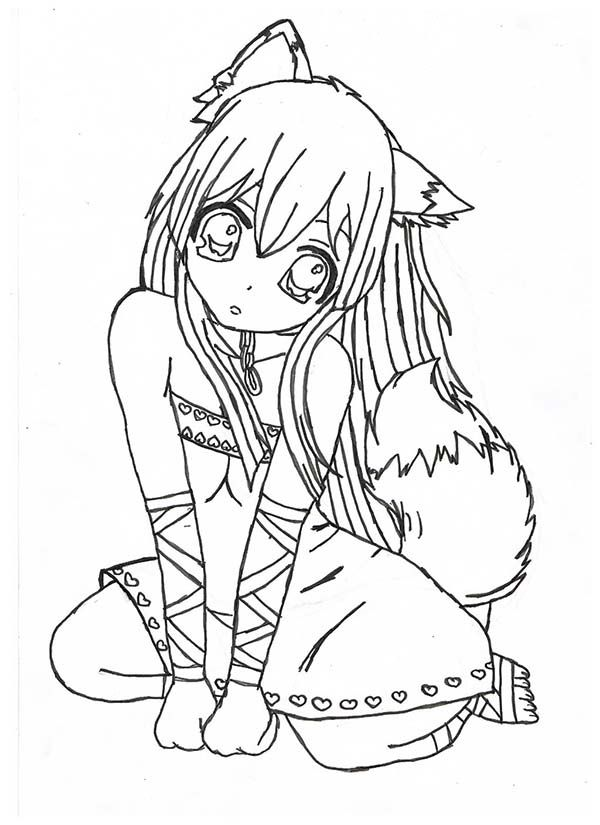 animal girl coloring pages 54 best images about lisa frank coloring pages on pinterest animal coloring girl pages