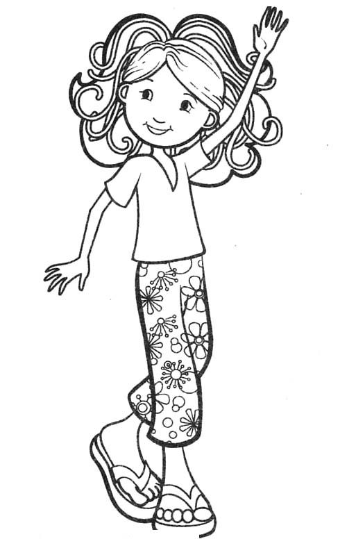 animal girl coloring pages groovy girls very happy coloring for kids animal animal pages girl coloring