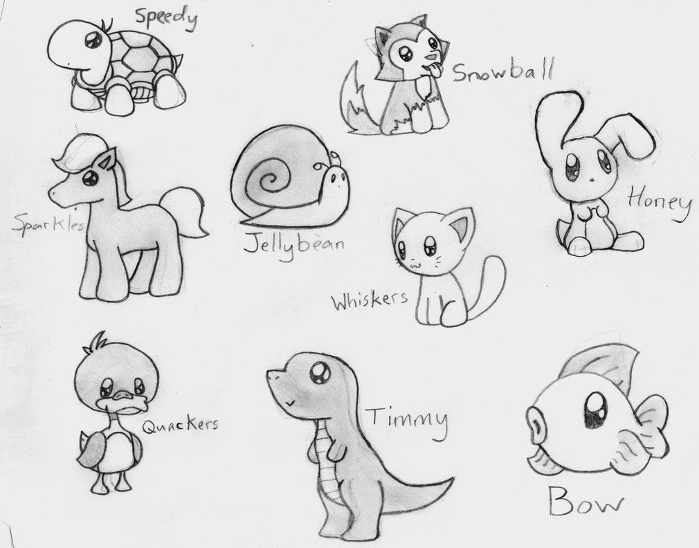 anime animals drawings 1000 images about draw cartoon animals on pinterest anime animals drawings