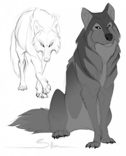 anime animals drawings cute dog anime drawing at getdrawings free download animals anime drawings