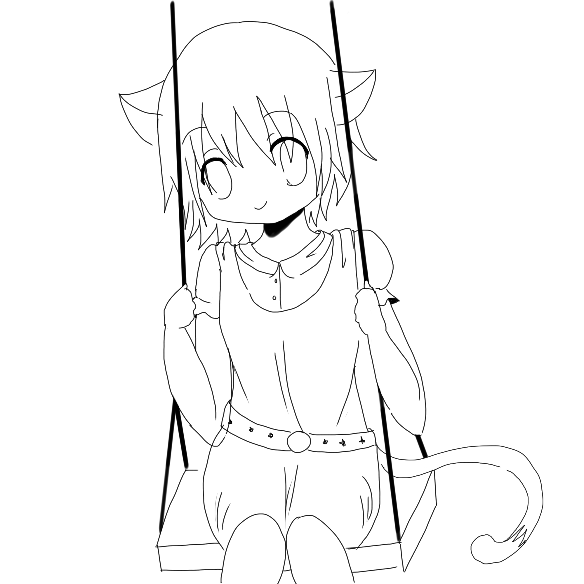 anime cat girl coloring pages anime cat girl coloring pages coloring home anime pages cat girl coloring
