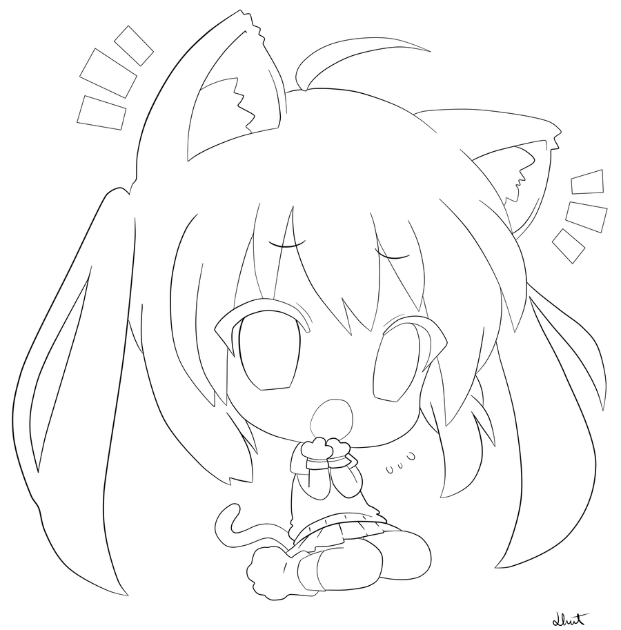 anime cat girl coloring pages anime cat girl coloring pages coloring home anime pages girl cat coloring