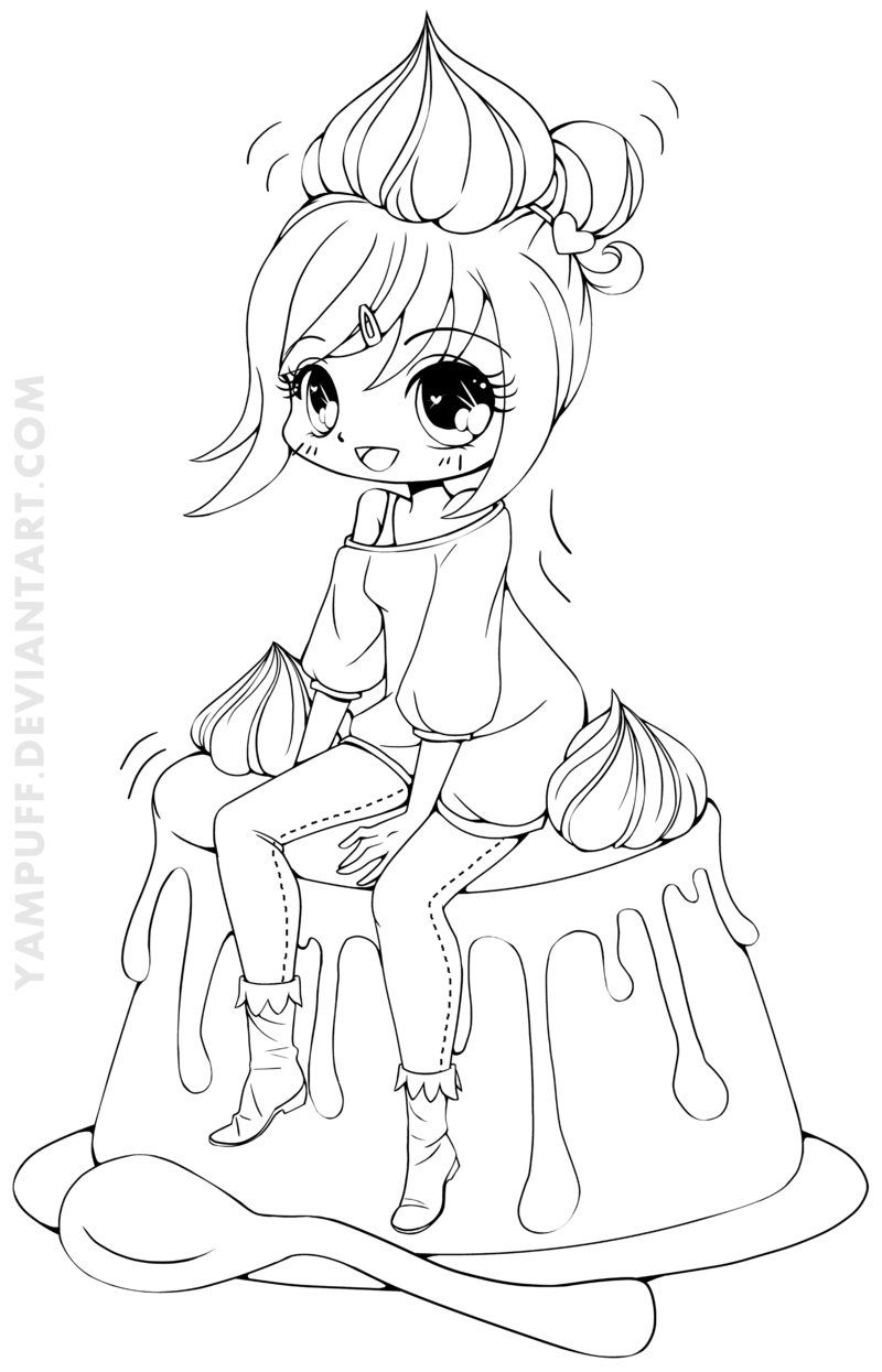 anime kawaii girl coloring pages 1189 best anime coloring pages images on pinterest coloring girl anime pages kawaii