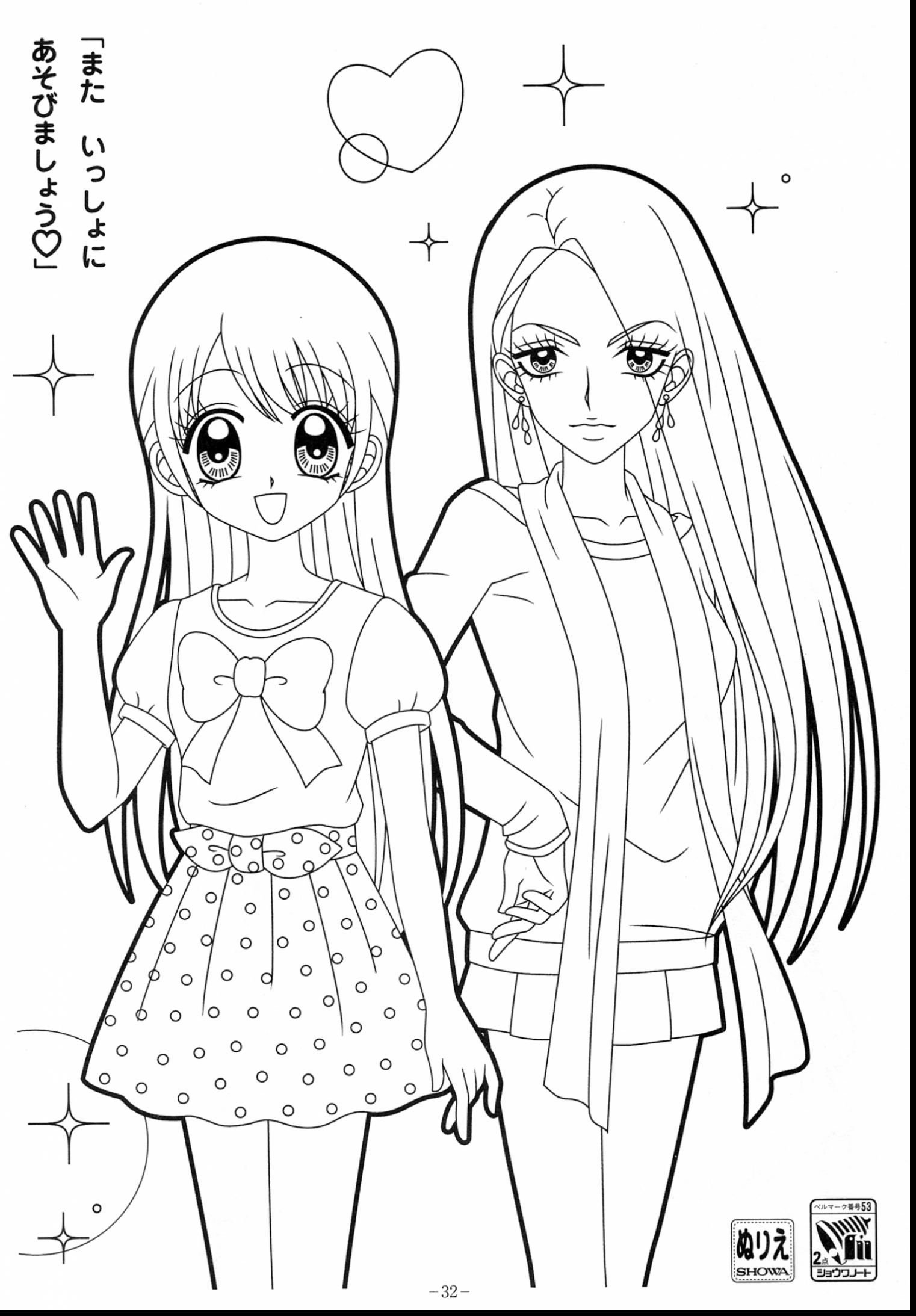 anime kawaii girl coloring pages 25 marvelous photo of cute girl coloring pages birijuscom coloring girl kawaii pages anime