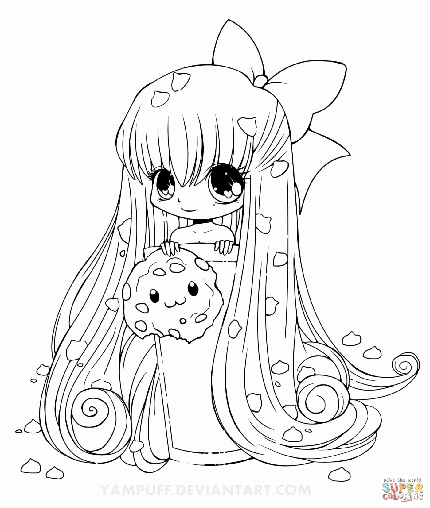 anime kawaii girl coloring pages anime manga coloring pages at getcoloringscom free coloring pages anime girl kawaii
