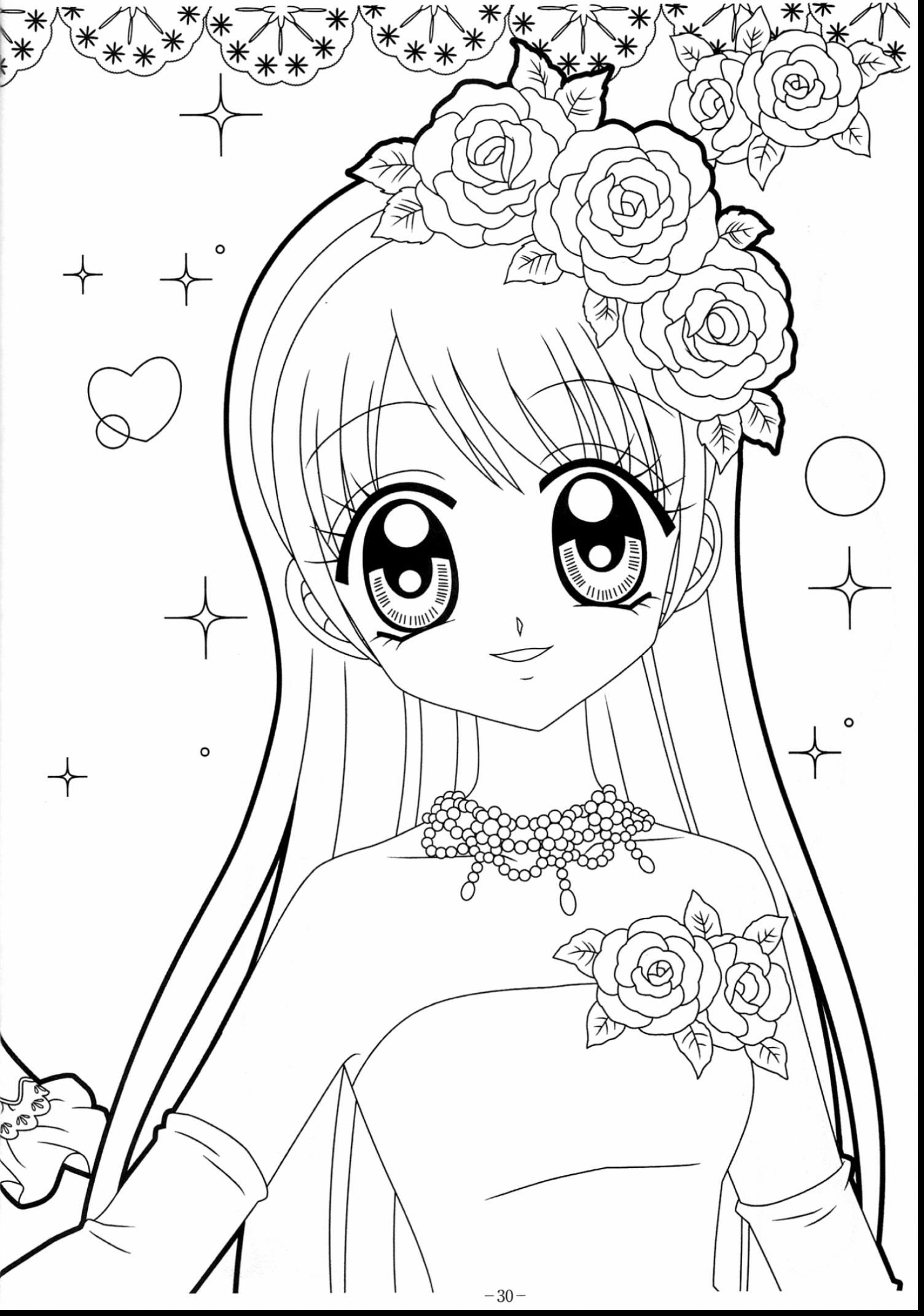 anime kawaii girl coloring pages kawaii anime girl coloring pages 101 coloring anime kawaii pages coloring girl