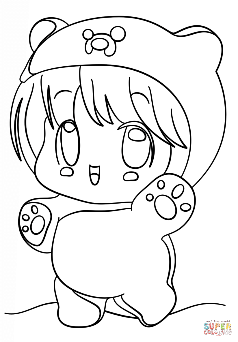 anime kawaii girl coloring pages pin by an xie on annie cute coloring pages chibi coloring girl pages kawaii anime