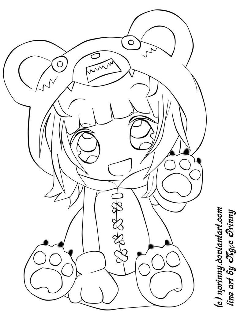 anime kawaii girl coloring pages printable chibi coloring pagesjpg 8771185 chibi anime coloring girl pages kawaii