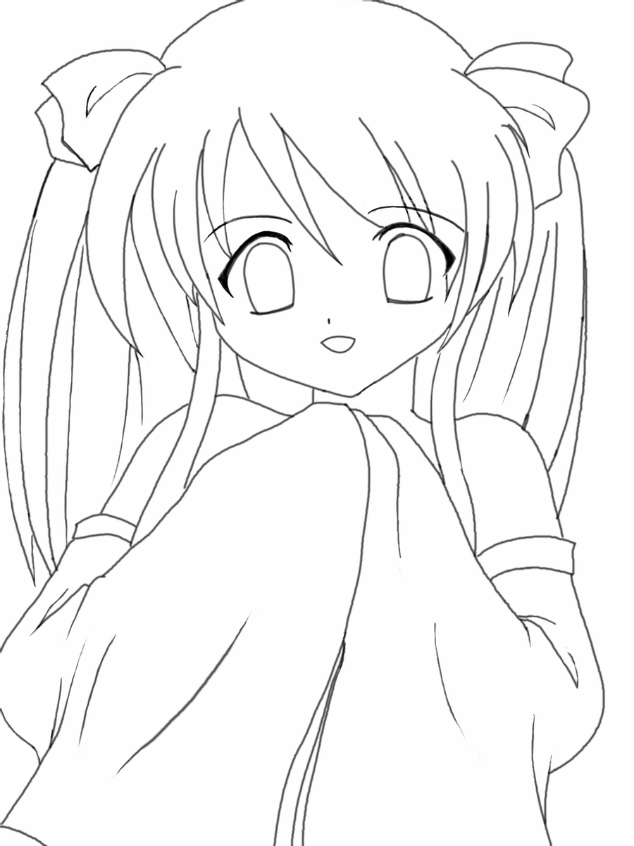 anime kawaii girl coloring pages trends for kawaii cute chibi coloring pages sugar and spice kawaii girl anime pages coloring
