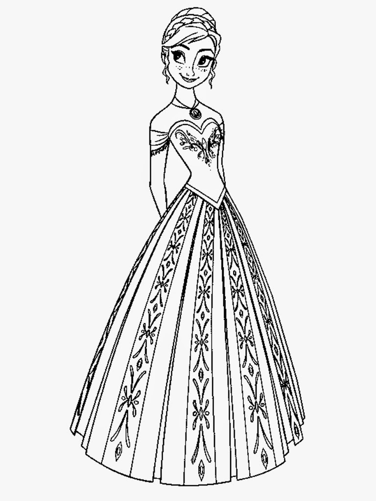 anna coloring pages 20 free printable disney princess anna coloring pages anna pages coloring