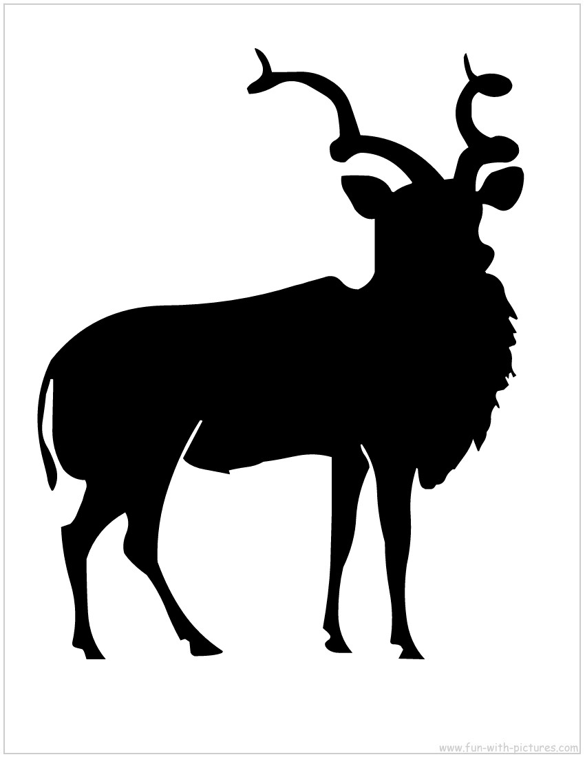 antelope silhouette pronghorn clipart 20 free cliparts download images on antelope silhouette