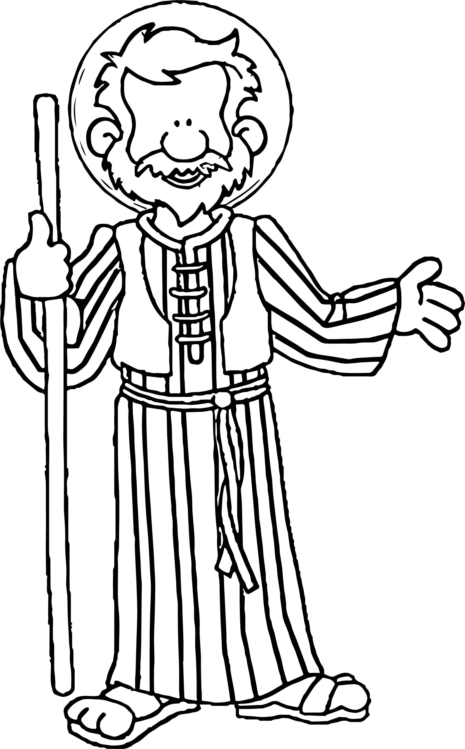 apostle paul coloring page cartoon paul the apostle coloring page free printable apostle page paul coloring