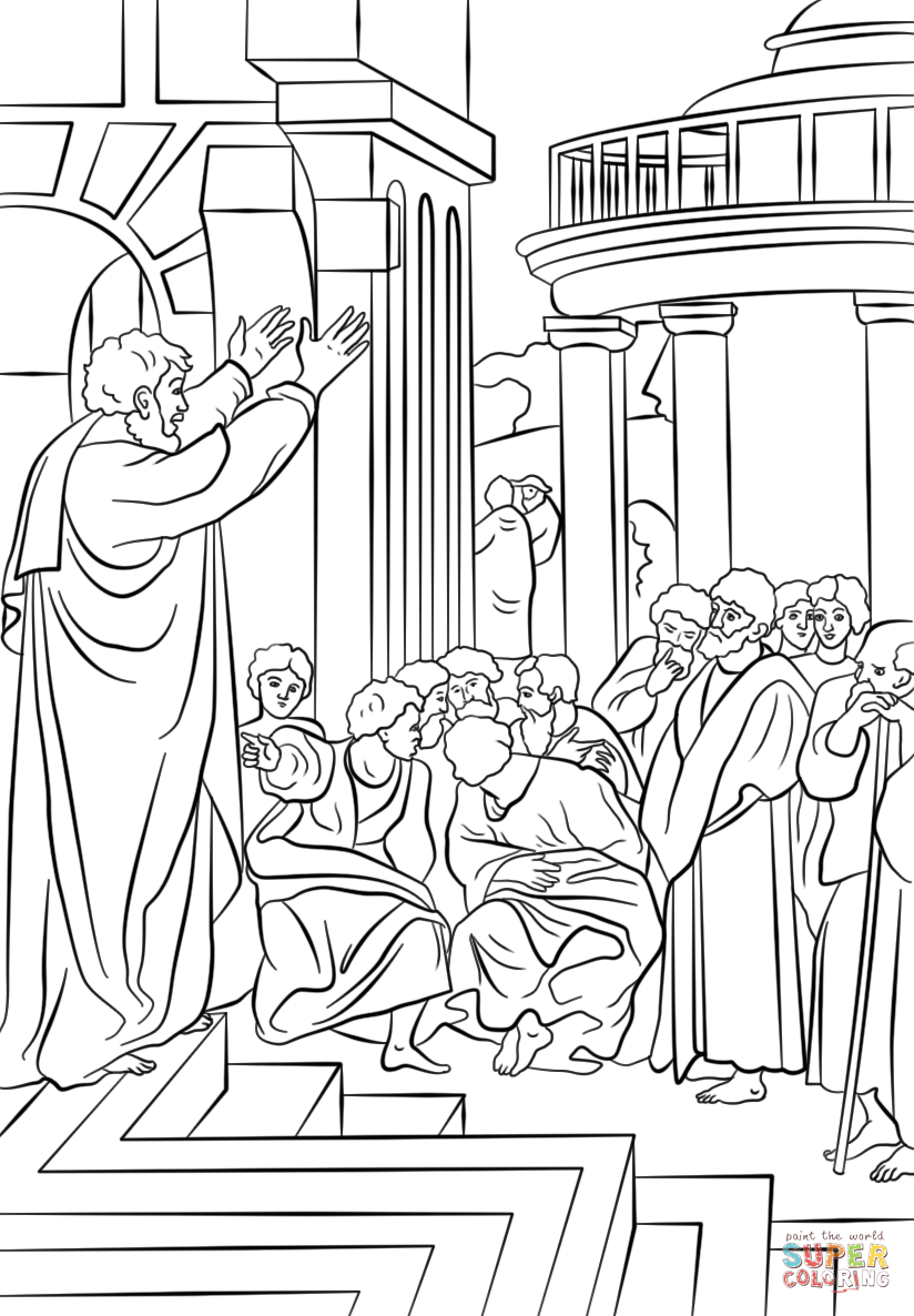 apostle paul coloring page paul shipwrecked on malta kids sunday school lessons page apostle paul coloring