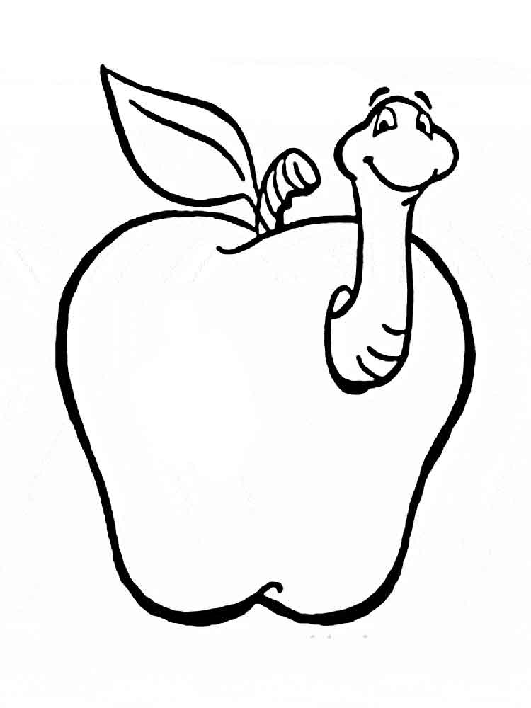 apple color pages free printable apple coloring pages for kids apple color pages 1 1