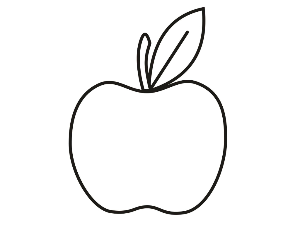 apple color pages print download make your kids more creative with apple color apple pages