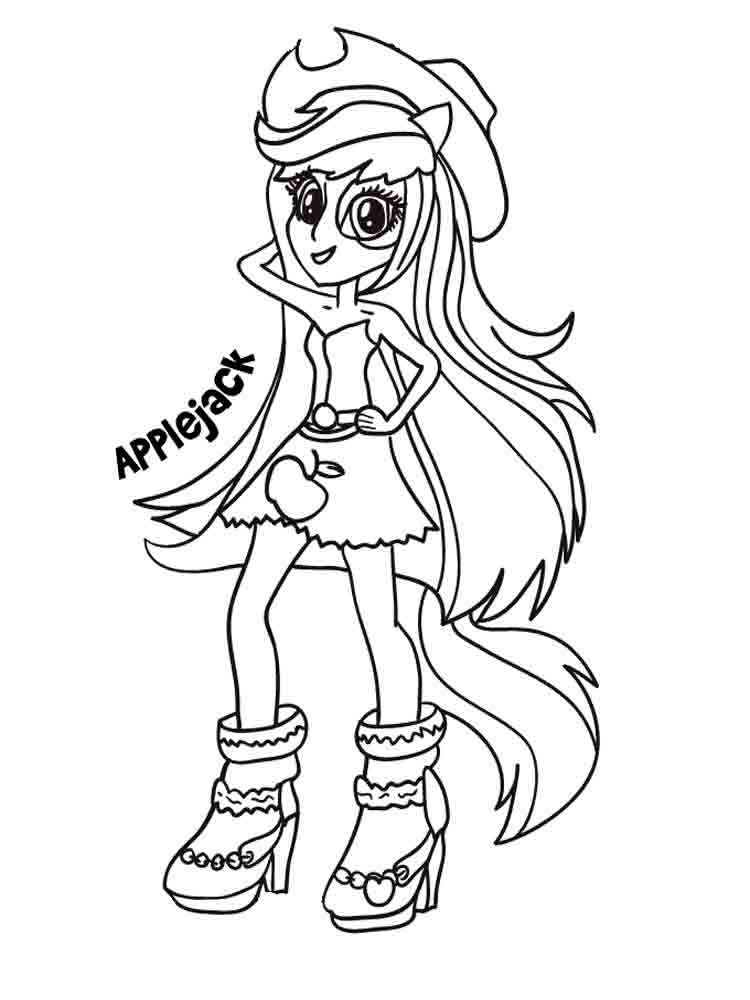 applejack equestria girls coloring pages my little pony princess applejack picture coloring page applejack equestria girls coloring pages