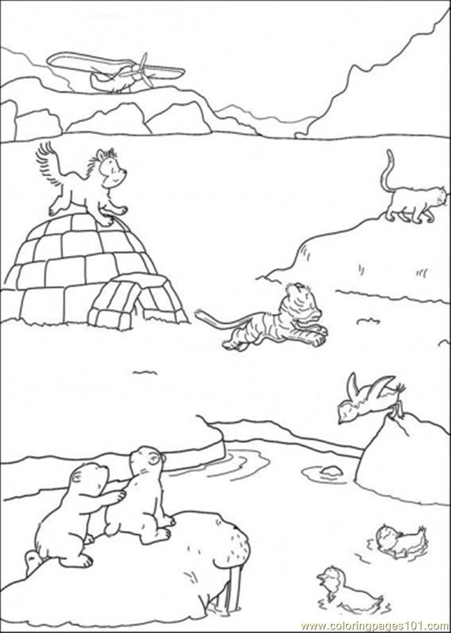 arctic animal coloring pages lemming couple in arctic animals coloring page kids play animal coloring pages arctic