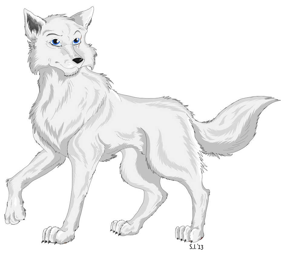 arctic wolf drawing arctic wolf cub quick sketch by mariannemason on deviantart drawing arctic wolf