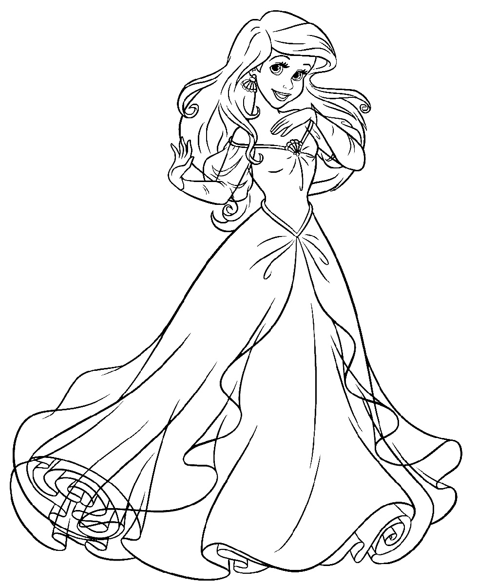 ariel and belle coloring pages belle ariel and cinderella coloring pages coloring home pages belle and ariel coloring
